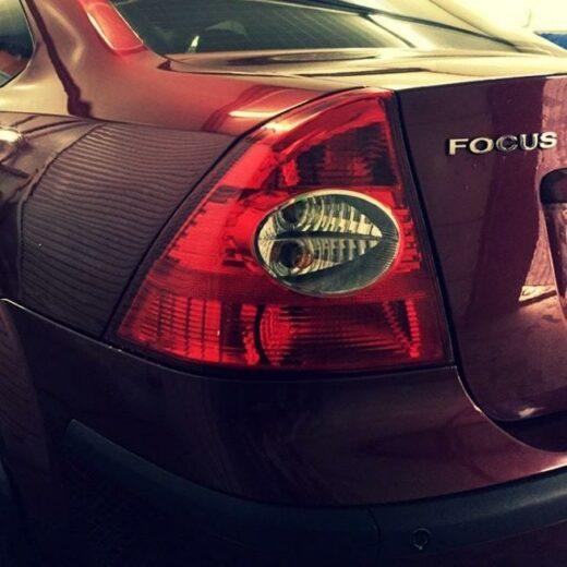 Ремонт вмятины Ford