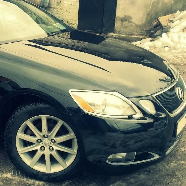 Фот результата удаления дефектов кузова Lexus