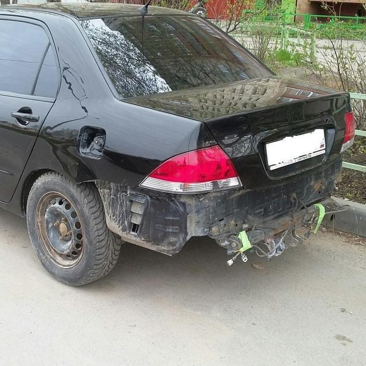 Фото Mitsubishi после восстановления