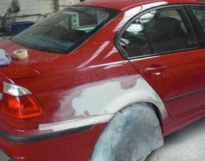 Фото покраски авто