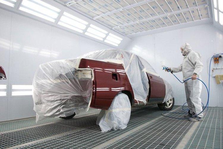 Фото полной покраски авто в «АвтосервисПрофи» в Липецке