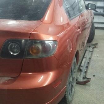 Фото после ремонта Toyota
