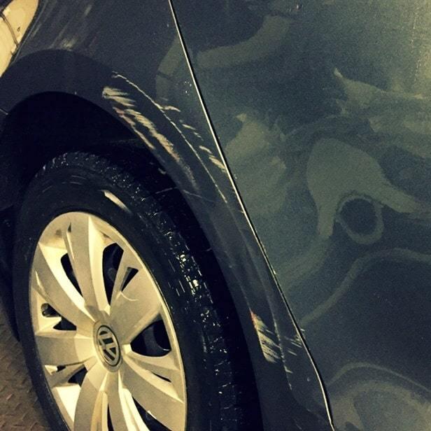 Фото повреждений Volkswagen