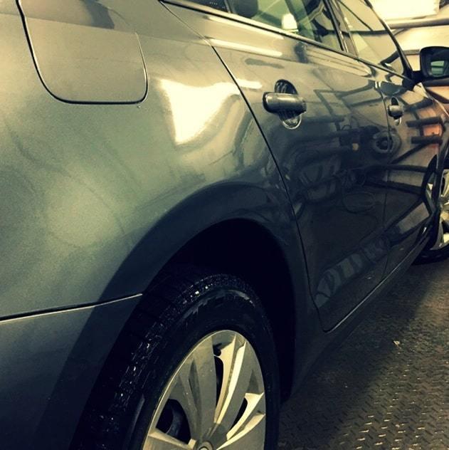 Фото после ремонта Volkswagen